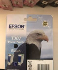 Картридж Epson T007 Twin Pack Black, Фрязино