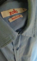 Рубашка Zolla, итальянские бренды одежды для полных, Лесной Городок