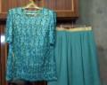Купить молодежное платье 50 размера, комплект блуза и юбка, Ковдор