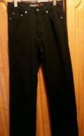 Брюки-джинсы черные стрейч. Р. 34. Новые, мужские брюки mexx, Псков