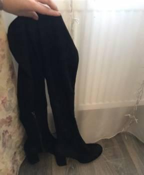 Ботфорты Zara, женские зимние ботинки оптом