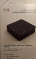 SIP телефон Atcom AT-610 и адаптер Cisco SPA100, Арамиль