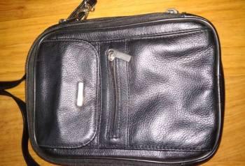 Муж. сумка через плечо, кожа натур. , 27х19х8