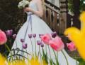 Свадебное платье, платье mayoral розовый, Рыбинск