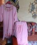 Одежда для крупных женщин оптом, розовый костюм, Казань