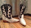Мужская обувь для зимы, продам новые мужские сапоги из кожи питона, Томск