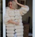 Наталья миллер одежда, шуба из песца. Арт: 264, Владивосток