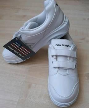 Новые, белые кроссовки New balance р.41, бонприкс мужская зимняя обувь