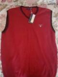 Жилет Gant красный хлопок, куртка мужская outventure hma206-97, Ярославль