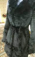 Шуба из натуральной шкуры кролика новая, магазин модной одежды ogqi, Леваши