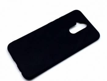 Huawei Mate 20 Lite Чехол Черный Матовый Силикон