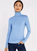 Новый Свитер голубой, купить костюм для танца живота в интернет магазине недорого, Хлевное