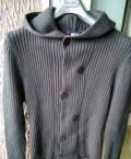 Размер верхней одежды в год, свитер новый. цвет графит. размер (L), Славск
