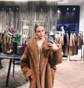 Популярные бренды российской одежды, шуба новая в стиле max mara, Нахабино