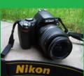 Фотоаппарат зеркальный Nikon D40X, объектив Nikkor, Кузнечиха