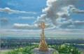 """Картина """"Поклонный крест Хотмыжска"""" и другие, Городище"""