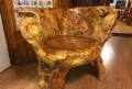 Деревянное Кресло из цельного дерева, Сургут