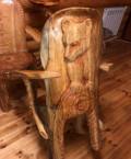 Деревянное Кресло ручной работы, Большая Черниговка