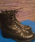 Турецкие марки женской обуви, новые ботинки модные демисезо 36/37 искусств. кожа, Набережные Челны