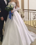 Свадебное платье, перчатки, балеро, женские кофты obey, Сургут