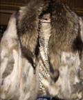 Платье на новый год для толстых, короткая шубка из лисички, Александров