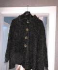 Красивые короткие платья на каждый день, пончо шерсть 44-50 (free size), Ильинское