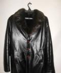 Зимняя кожаная куртка, толстовка хлопок и полиэстер код тн вэд, Карталы