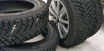 Зимние шины на ниву шевроле r15, продам Michelin X-Ice 4 (зима 2019) 12 шт