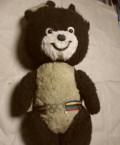 Мягкая игрушка олимпийский мишка, большой 58см, СССР, Пенза