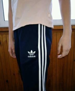 Спортивные штаны Adidas originals, майка в стиле ночной сорочки
