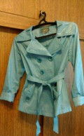 Плащ-куртка на пуговках, норковая шуба фасон платье, Палех