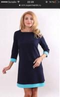 Черное платье с золотыми пуговицами, новое платье, Менделеевск
