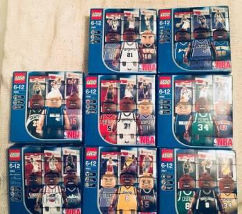 Lego Sports NBA Minifigures