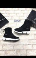 Элитная итальянская женская обувь, весенние новые ботинки 35р, Мурманск