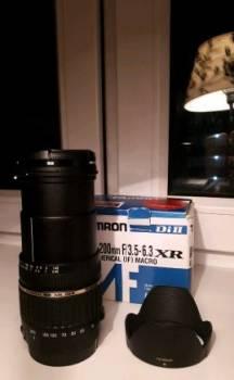 Объектив Tamron 18-200 с фильтром