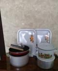 Кастрюли, сковорода, тарелки, салфетки, скатерти, Минеральные Воды