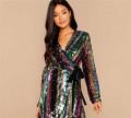 Платье с паетками, спортивный костюм яркий для девушки, Калининград