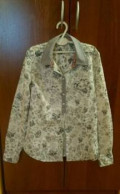 Рубашка Zolla, одежда для дома женская красная линия, Здвинск