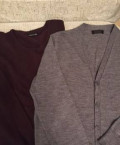 Зимние ботинки мужские с высоким берцем, свитер, жакет Zara, XL, Москва