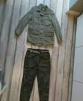 Женская одежда успех, bershka куртка p.M, брюки Mango р.М, Горбунки