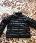 Мужская кожаная куртка armani jeans, продам пуховик 52-54, Екатеринбург