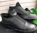 Купить мужские кроссовки без шнурков, ботинки армани, Большое Козино