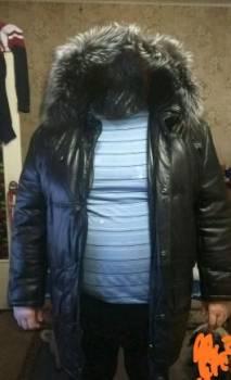 Мужские пиджаки массимо дутти, пуховик кожаный Аляска