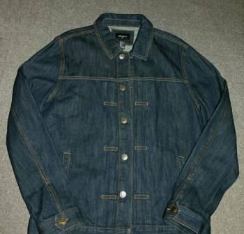 Мужские пиджаки зара цены, джинсовка Forever21. разм. L. новая