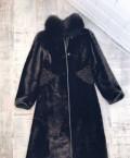 Шуба мутон, платье под фигуру треугольник, Перелешинский