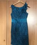 Заказать платье под кожу с кружевами большого размера, платье бирюзово-зеленое, Челябинск