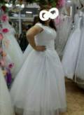 Платье фирмы h m на новый год мерцающее, свадебное платье, Смоленск