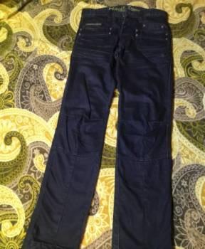 Джинсы Devil. Stone, мужские джинсы рваные