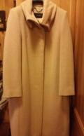 Бирюзовое платье свободного кроя, пальто демисезонное, Тюмень