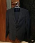 """Мужская кожаная куртка с волчьим мехом, костюм мужской """"Kanzler"""", Тольятти"""